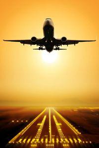 op-reis-vliegen (fly away on a holiday)