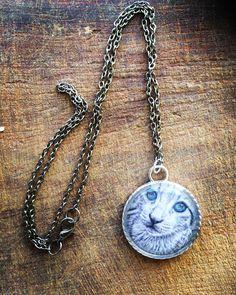 Washer Necklace, Pendant Necklace, Clay Art, Pendants, Handmade, Jewelry, Fashion, Moda, Hand Made