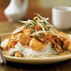Thai-Style Stir-Fried Chicken | MyRecipes.com