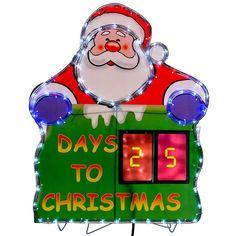 #Eba#Rope#Light#Silhouette#Led#Indoor#Outdoor#Christma#Xmas#Santa#Advent#63#cm#Decor