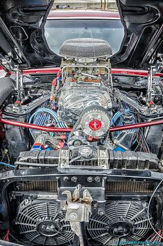 Blown Ford Cobra 428