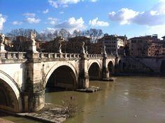 Walking through Rome is so beautiful
