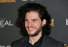 This hair. | 14 Reasons Kit Harington Is Absolutely Perfect