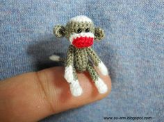 tiny sock monkey :-).