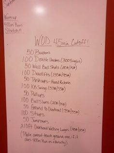 Killer wod crossfit 956 Holy crap this looks tough