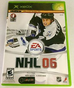 NHL 06 (XBOX, 2006) Video Game SOLD!! Was available at Gadgets  Gold in Gainesville, FL!
