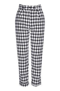 Gingham Mensy Trousers
