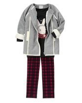 Snow Hopper Girls outfit by Gymboree. Girls winter fashion. #sponsored