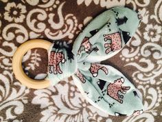 Soft Rabbit Ear Natural Teethers