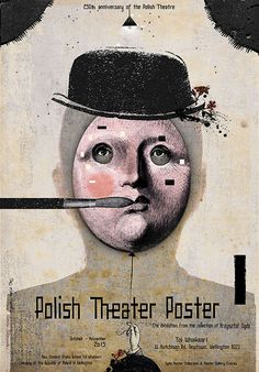 Ryszard Kaja, Polish Theater Posters - Wellington NZ, 2015