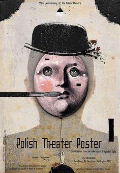 Ryszard Kaja, Polish Theater Posters - Wellington NZ, 2015