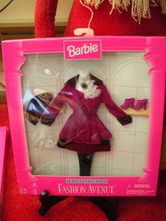 "BARBIE,  1996- ""FASHION AVE INTERNATIONALE"" - ENGLAND - NIB #Mattel"