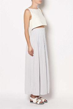 Crop Top Maxi Dress