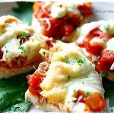 ささみのじゃこピザ゜と、リメイク春巻き .゜( ̄  ̄人)゜ .゜ by sacchiさん   レシピブログ - 料理ブログのレシピ満載!          以前も作ったささみピザ。→ ☆     この時もそうでしたが、昨日もあの トマトソース がありましたので、たっぷり乗っけて。  昨日はハムバージョンとちりめんじゃこバージョンの2種類...