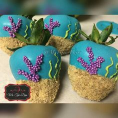 Under the Sea themed Dips Thoughts? Little Mermaid Decorations, Sweet 16 Decorations, Chocolate Hearts, Chocolate Dipped, Strawberry Dip, Strawberry Buttercream, Mermaid Baby Showers, Mermaid Parties, Under The Sea Party