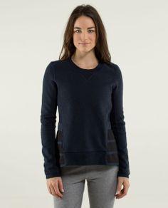 ruffled up pullover | women's long sleeve tops | lulu lemon athletica - size 4