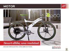 Bicicleta sección motor Actualidad7. Amplio reportaje de dicha bicicleta.