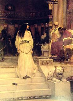 waterhouse herod painting