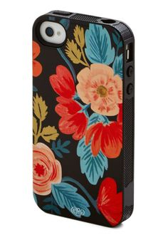 Get a dose of roses with this beautiful phone case from Rifle Paper Co. #tech