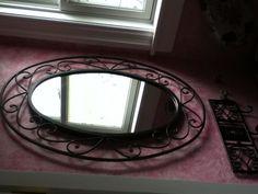 Main mirror in my half bath.