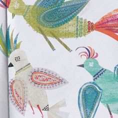 Via Print and Pattern: Mr William draw is a freelance designer based in chile Bird Patterns, Pretty Patterns, Textures Patterns, Bird Illustration, Illustrations, Frame It, Art Sketchbook, Fabric Decor, Beautiful Birds
