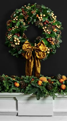 Some cheap ideas for Christmas Tree Projects - Christmas season is just around the corner and you may also have started some Christmas preparations. So have you thought of Christmas tree projects o. Stick Christmas Tree, Diy Christmas Lights, Christmas Wreaths To Make, Christmas Door Decorations, Decorating With Christmas Lights, Christmas Flowers, Outdoor Christmas, Holiday Wreaths, Christmas Crafts