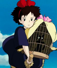 Studio Ghibli GIFs - Kiki's Delivery Service - @laprice08 thank you and Lilly for letting me borrow it
