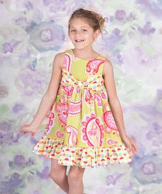 <p+style='margin-bottom:0px;'>With+a+flowy+silhouette,+bitty+bow+and+blend+of+sweet+sunshiny+prints,+this+lovely+dress+is+ready+for+a+walk+on+the+smile+side.+The+back-button+design+makes+it+easy+for+cuties+to+get+dressed+each+morning.<p+style='margin-bottom:0px;'><li+style='margin-bottom:0px;'>100%+cotton<li+style='margin-bottom:0px;'>Machine+wash<li+style='margin-bottom:0px;'>Imported<br+/>