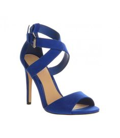 Cobalt Blue Strappy Heel