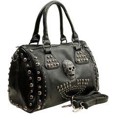 Skulls:  #Skull handbag.