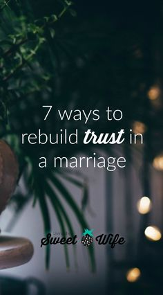 There is always hope for restoration. Yeah its going to need to be something you both want and it will take time. But with time and the steps Im outlining here Im confident that you and your spouse can regain trust again. Marriage Goals, Marriage Relationship, Happy Marriage, Marriage Advice, Love And Marriage, Marriage Help, Strong Marriage, Relationship Science, Marriage Challenge