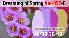 Dreaming of Spring Color Palette by Polymer Clay Tutor