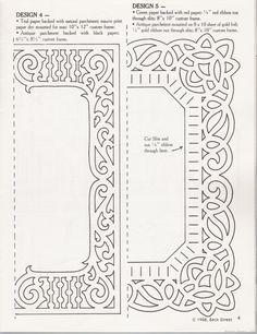 Paper Cut Frame Template ~ Paper Cutters | Crafts - Paper Cutting ...
