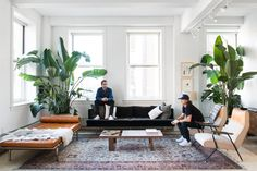 "Homepolish founder Noa Santos designed the space, drawing inspiration from pieces Neman and Ru already owned. ""The living room rug was from Jon's family, and it served as a starting point for the living room color palette,"" Santos told Business Insider."