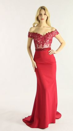 SKU: Nora Color: Red Off the shoulder and mermaid skirts are the highlights of this prom dress. Coupled with the lace design of the upper body, wearing it can perfectly show the curves and sexy of women. Available in full-size range and in custom sizing. Mermaid Skirt, Mermaid Gown, Mermaid Prom Dresses, Bridesmaid Dresses, Wedding Dresses, Bridal Gowns, Elegant Prom Dresses, Evening Dresses, Beautiful Evening Gowns