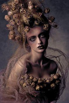 model DANA MOSTEK costume/make up/photo AGNIESZKA JOPKIEWICZ