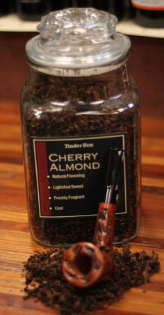 Tinder Box Cherry Almond Pipe Tobacco – Get Set to Enjoy Pipes And Cigars, Cigars And Whiskey, Best Pipe Tobacco, Tobacco Pipes, Wooden Smoking Pipes, Pipe Smoking, Homemade Fishing Lures, Tinder, Natural Flavors