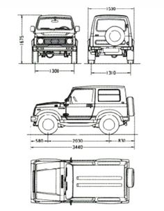SuzukiJeepinfo: ■ Drawing Model