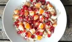 Winter Spiced Fruity Overnight Oats Clean Eating Recipes, Healthy Recipes, Best Breakfast Recipes, Overnight Oats, Food Service, Main Meals, Fruit Salad, Food To Make, Spices