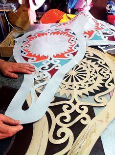 Nova coleção irmãos Campana | Parte do processo de execução do encosto do sofá