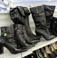 Steampunk on a Thrift-Store Budget: A Guide to Successful Thrifting « Steampunk R - just love the shoes.