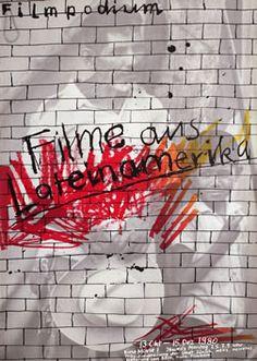 Bruhwiler, Paul poster: Filme aus Lateinamerika - Filmpodium