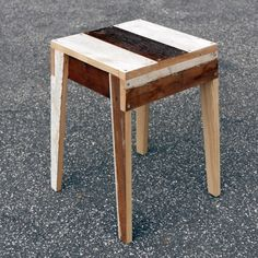 High Gloss, Stool, Table, Furniture, Home Decor, Baking Stone, Bedside Desk, Old Wood, Pastel