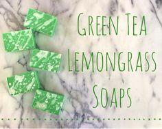 Easy Melt and Pour Green Tea & Lemongrass Soap Recipe