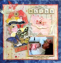 Sweet Life Bliss Layout - Scrapbook.com