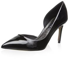 Steven by Steve Madden womens silvya pump black patent. Designer ShoesSteve  MaddenPumps