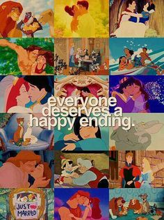 Everyone deserves a happy ending!