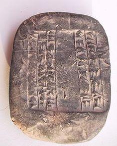Sumérios e Babilónios: a escrita cuneiforme