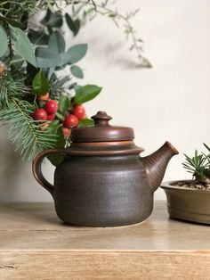 Your place to buy and sell all things handmade First Home Gifts, Tea For One, Nordic Design, Autumnal, Teapot, Finland, Stoneware, Mid-century Modern, Mid Century