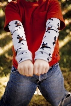 Hey, I found this really awesome Etsy listing at http://www.etsy.com/listing/62346652/ninja-power-kool-kid-arm-leg-warmers-for